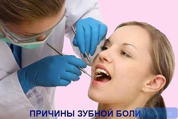 """alt=""""Почему болит зуб"""""""