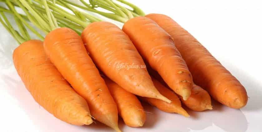 Полезные вещества в моркови